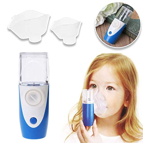 GSAKNC Nebuliser Inhaler, Handheld Automatic Inhalator Vernebler with USB Charger, Atomized Particles And Ultrasonic Technology