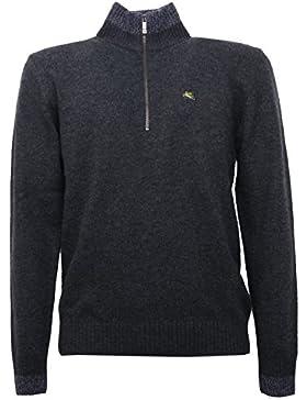 B5310 maglione uomo ETRO grigio melange wool sweater men