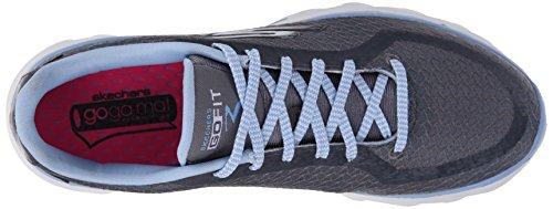 Skechers prestazioni Go Fit 3 Walking Shoe Charcoal/Blue