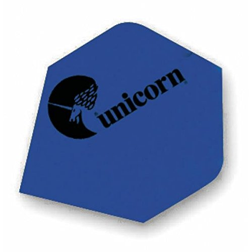 Unicorn Maestro 100 Pear Dart Flights (3 Stk.), Unicorn Maestro 100 Pear Flights:Blau