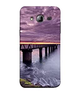 PrintVisa Bridge On River 3D Hard Polycarbonate Designer Back Case Cover for Samsung Galaxy J7 J700F (2015) :: Samsung Galaxy J7 Duos (Old Model) :: Samsung Galaxy J7 J700M J700H
