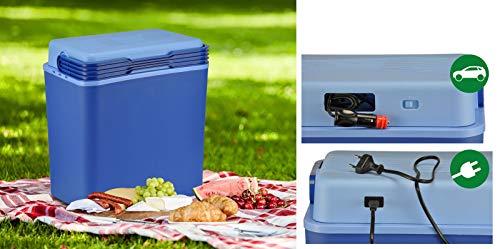 bonsport Elektrische Kühlbox 30L 12V und 230V - Mobile Thermobox für Auto und Steckdose