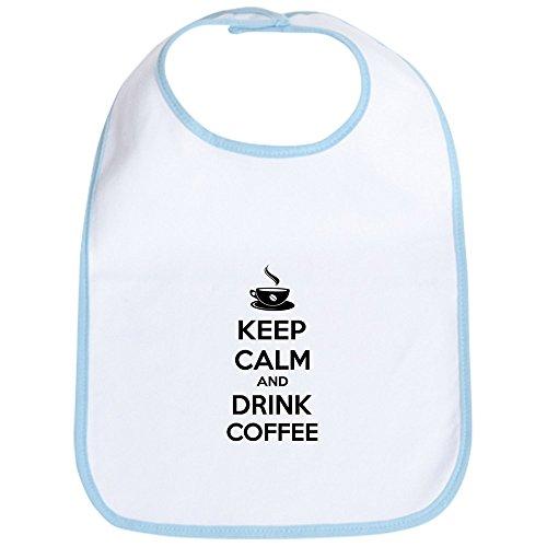 CafePress - Keep calm and drink coffee Bib - Cute Cloth Baby Bib, Toddler Bib