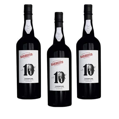 Madeirawein Barbeito Verdelho 10 Years - Dessertwein - 3 Flaschen