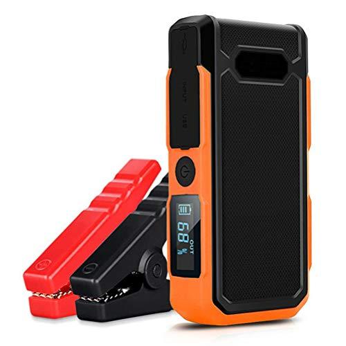 Car Jump Starter - 800A, lithium de capacité élevée Batterie, 12V voiture batterie de démarrage avec lampe de poche LED et boussole, démarrage d'urgence voiture Power Pack