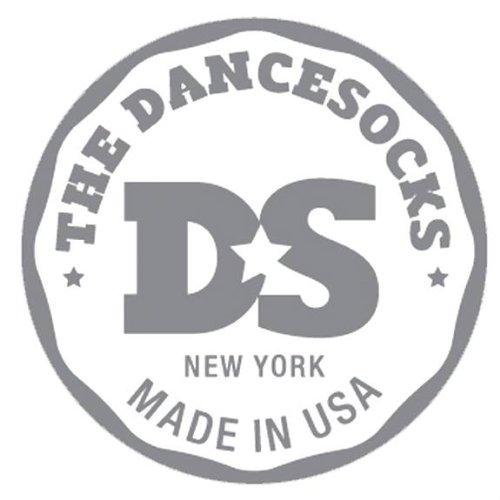 Le dancesocks–Sneaker Chaussettes pour danse sur les sols lisses Rose - Rose