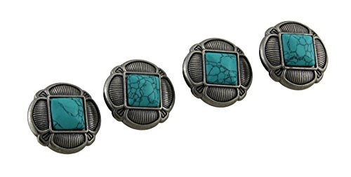 set-of-4-faux-turquoise-and-antique-silvertone-decorative-drawer-knobs