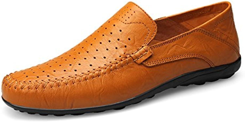 Xiazhi-scarpe, Mocassini Morbidi di Design Design Design Casual alla Moda da Uomo Slip On Driving Loafer Slipper, (Coloree   giallo... | Pratico Ed Economico  fd674f