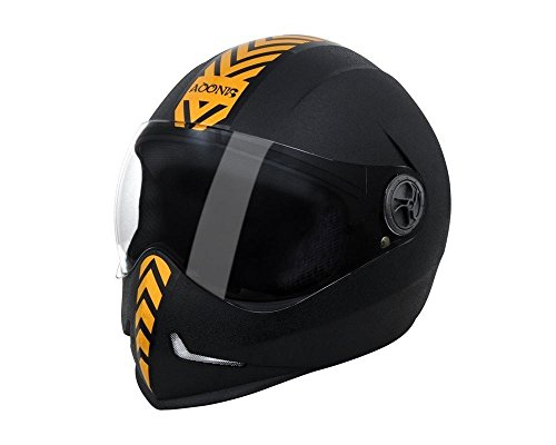 Steelbird Adonis Dashing Full Face Helmet(Gold)  available at amazon for Rs.915