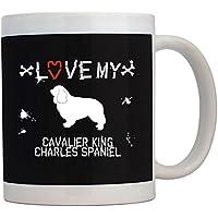Teeburon LOVE MY Cavalier King Charles Spaniel Tazza
