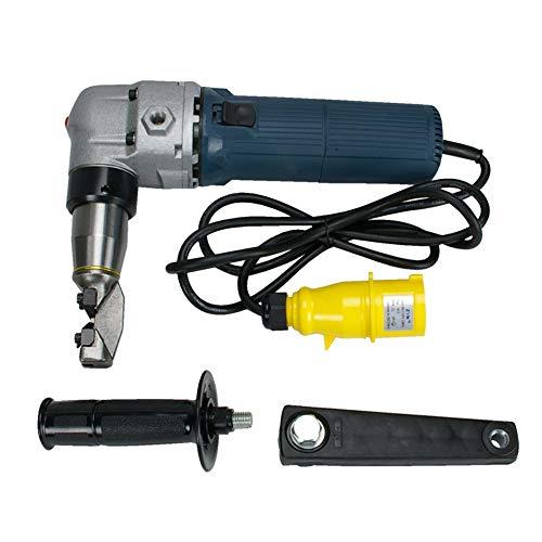 Sheet Metal Nibbler Shear 4mm Steel Longbow Electric Cutter ht-en-40110V Plug