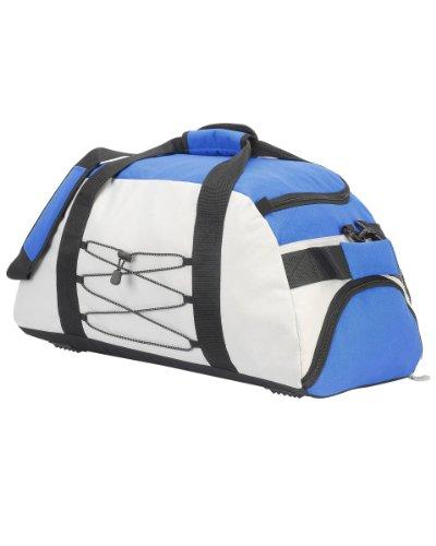 Shugon Athena Overnight Holdall Sporttasche, Reisetasche, Schuhe, Taschen, Reißverschluss-Tasche, O/S Licht Grau/Blau