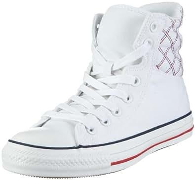 Converse CT Padded Collar Hi wht/denim 113177, Unisex - Erwachsene Sneaker, Weiss (white/denim), EU 42.5 (US 9)
