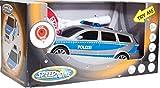 Speed Zone Polizeiauto mit Polizeikelle