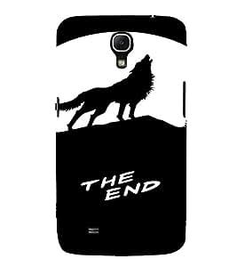 PrintVisa Howling Wolf Animal Design 3D Hard Polycarbonate Designer Back Case Cover for Samsung Galaxy Mega 6.3