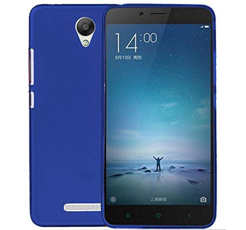 TBOC® Custodia Gel TPU Blu per Xiaomi Redmi Note 2 - Hongmi Note 2 in Silicone Ultra Sottile e Flessibile