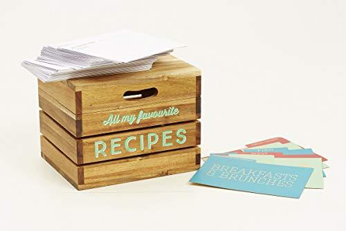 Jamie Oliver 553476 Rezeptbox, Holz (Rezept Box Holz)