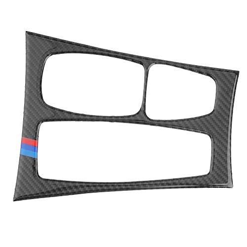 Prosperveil Carbon Fiber Gear Shift Pannello Cover Trim Sticker per BMW X5E70X6E71