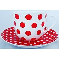 Red Dots & & Piattino da colazione