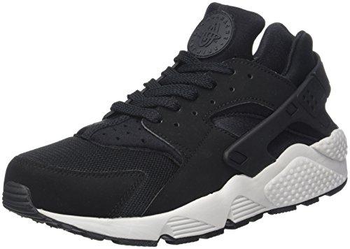 Nike Herren Air Huarache Run Sneaker Schwarz Black/Pure Platinum/blac 045, 42 EU
