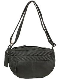 Sac bandoulière Cowboysbag Spilsby en cuir bien souple blanc (33 x 21 x 14 cm)