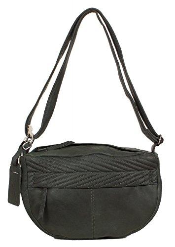 Sac bandoulière Cowboysbag Spilsby en cuir bien souple blanc (33 x 21 x 14 cm) Vert (Vert Foncé)