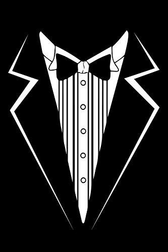 Halloween Tuxedo - Journal: Black Tie Tuxedo Tux Halloween