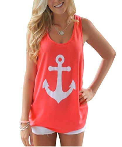 ISASSY-Dbardeur-Femme-Imprim-Haut-sans-Manches-Cotton-Top-T-shirt