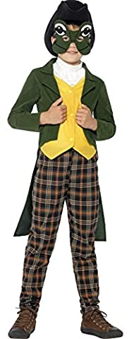 Boys Frog Prince Charming Brothers Grimm Book Week Fancy Dress Costume Outfit (7-9 years)