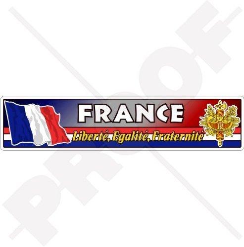 FRANKREICH Französische Flagge-Wappen République Française Emblem 180mm Auto & Motorrad Aufkleber, Vinyl Sticker -