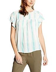 Cortefiel Cta P/P Rayas, Camiseta Para Mujer