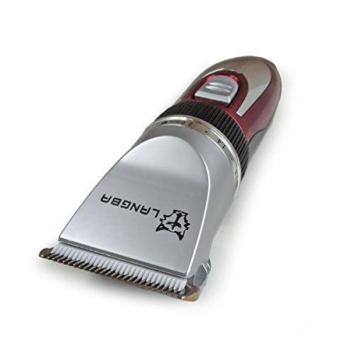 Tierhaartrimmer, Haarschneidemaschine für Hunde, mit Ersatzakku und Zubehör (SV067)