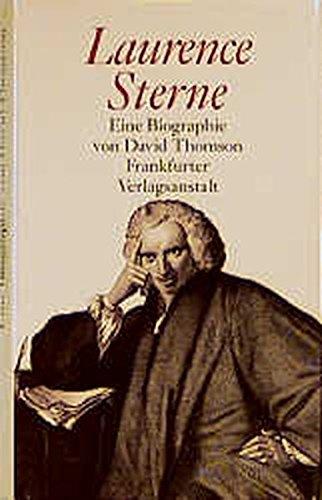 Laurence Sterne: Eine Biographie