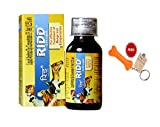 Goofy Tails Ridd Anti Tick and Flea Solution 12.5% for Effective Treatment Of