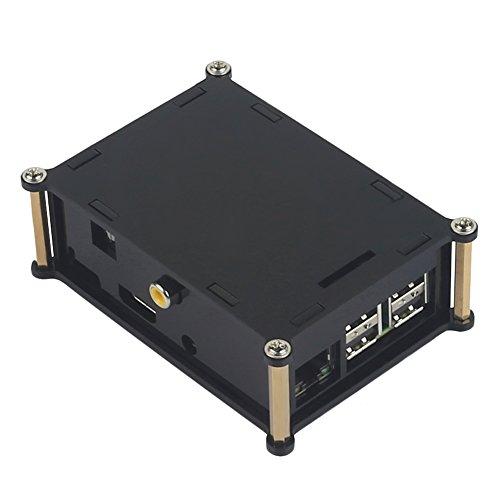 Digital Sound Karte Fall HiFi Digi Audio Gehäuse Cover Platine Schutz Shell FR4Material für Raspberry Pi 3(nur Fall) A a