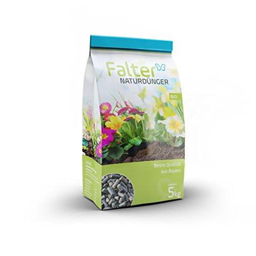 Falter Naturdünger – hochwertiger organischer Biodünger – Pellets – Bodenaktivator aus rein natürlichen Inhaltsstoffen – Nährstoffdünger, Rasendünger, Gartendünger –