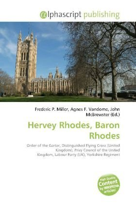 Hervey Rhodes, Baron Rhodes