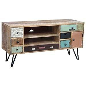 solido24 tv board lowboard tv bank stord vintage retro. Black Bedroom Furniture Sets. Home Design Ideas