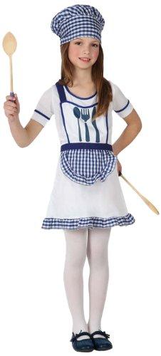 Imagen de atosa  disfraz de cocinera para niña, talla 10  12 años 16003