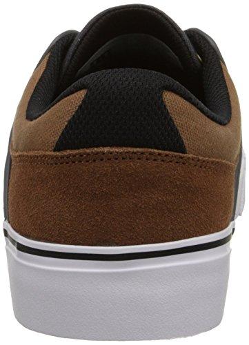 DC Men's Mikey Taylor Vulc Mikey Taylor Signature Skate Shoe, Burgundy, 10 M US Brown