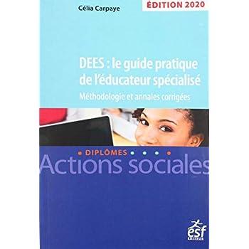 DEES : le guide pratique de l'éducateur spécialisé Session 2020. Annales corrigées