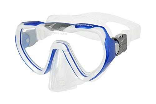 Aquazon Schnorchelbrille, Taucherbrille, Schwimmbrille Starfish für Jungendliche und Damen, Blau