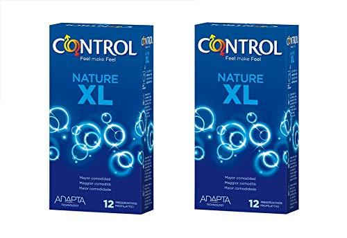 Control Pack Nature XL 2x12 Unidades