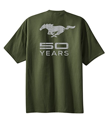 Ford Mustang 50anni Pony Military Green M