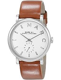 Marc Jacobs MBM1265 - Reloj con correa de acero para mujer, color blanco / gris
