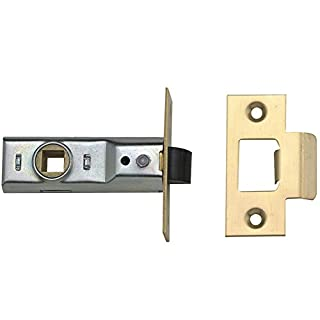Yale Locks 3PM888CH2 Tubular Mortice Latches 64mm 2.5-inch - Chrome Finish (Pack of 3)