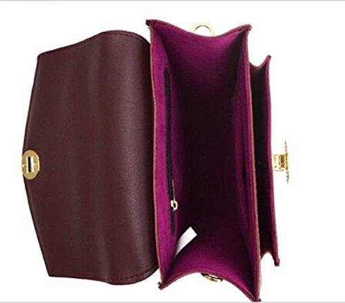 Mädchen Tassel Kleine Schulter Messenger Bag Mini Münze Geldbörsen PU Leder Handtaschen Geldbörse Red