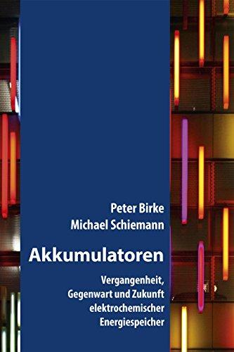 Akkumulatoren: Vergangenheit, Gegenwart und Zukunft elektrochemischer Energiespeicher (Fachbuch) (Flow-zelle)