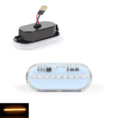 DoLED D28I23O13-B Clignotant latéral à LED Noir transparent