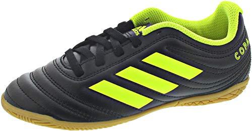 adidas Unisex-Kinder Copa 19.4 In J Fußballschuhe, Mehrfarbig Amasol/Negbás 000, 34 EU